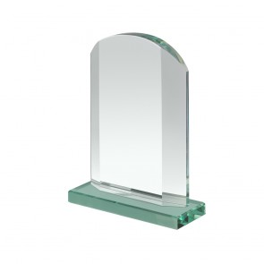 6 Inch Classic Arched Top Crystal Award