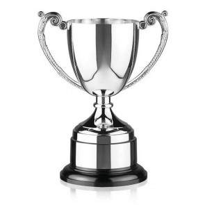 10 Inch Intricate Leaf Design Handle Endurance Trophy Cup