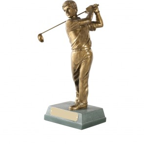 12 Inch Completed Swing Golf Signature Figure Award