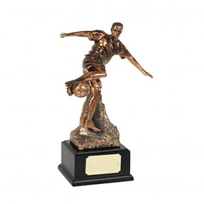 10 Inch Man Of The Match Football Resin Sculpture