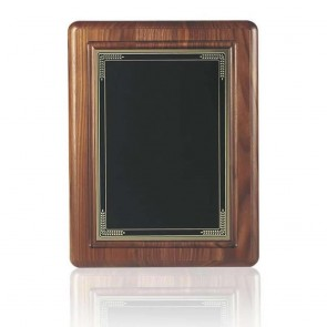 10 x 8 Inch Black Coated Brass Plate Victory Plaque