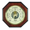 Octagon Shaped Veneered Barometer