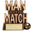 3 Inch Man Of The Match Football Resin Award