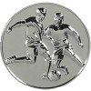 60mm Silver Supreme Football Medal