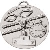 50mm Silver Swimming Goggles Swimming Target Medal