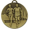 50mm Bronze Cross Country Running Target Medal