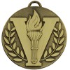 50mm Bronze Victory Torch Target Medal
