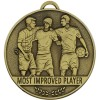 Most Improved Player Football Team Spirit Medal