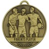 Parents Player Football Team Spirit Medal