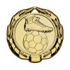 40mm Gold Sparta Football Medal