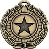 40mm Megastar Bronze Laurel Medal