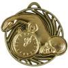 50mm Gold Front Crawl Swimmer Swimming Vortex Medal