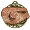 Bronze Trainer & Track Athletics Vortex Medal