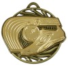 50mm Gold Trainer & Track Athletics Vortex Medal