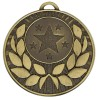 Bronze Star with Gold Wreath Target Medal