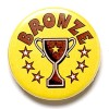 1 Inch Bronze Cup Pin Badge