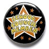 1 Inch School Council Member Pin Badge