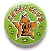 1 Inch Chess Club Pin Badge