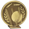 60mm Free Standing Bronze Cricket Global Medal