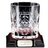 Large Knighton Crystal Whiskey Glass