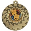50mm Bronze Comedy & Tragedy Drama Prism Medal