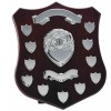 14 Inch Champion Silver Plate Annual Presentation Shield
