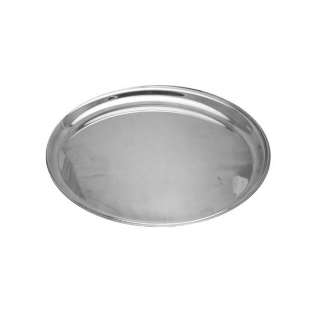 Silver Drinks Serving Tray