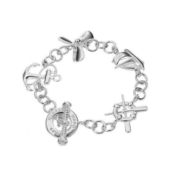 Sterling Silver Nautical Bracelet