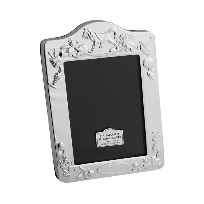 Sterling Silver Christening Day 9X6cm Photo Frame