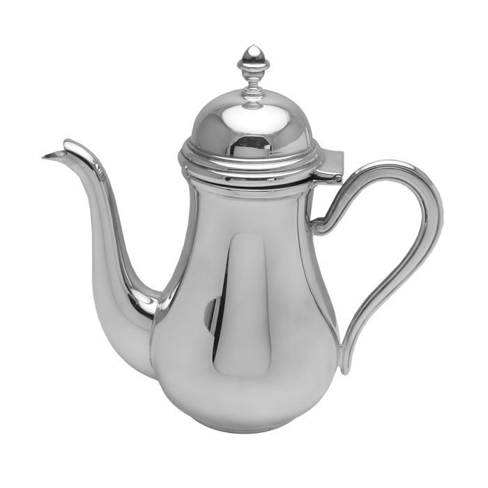 Sterling Silver Plain Coffee Pot