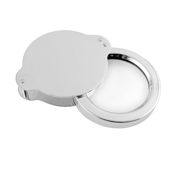 Sterling Silver Miniature Pocket Magnifying Glass