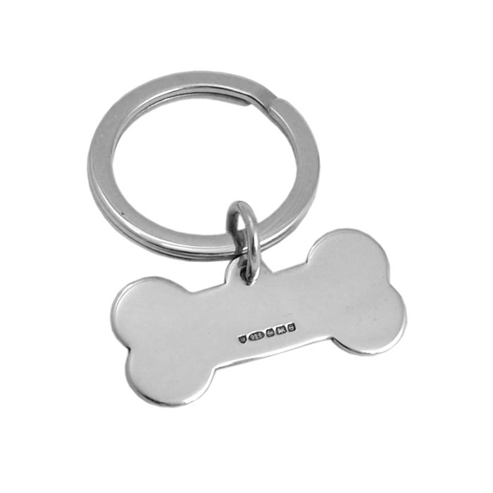 Dog Bone Keyring