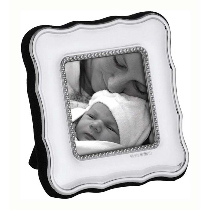 Edwardian Bead 5X5 cm Traditional Style Photo Frame