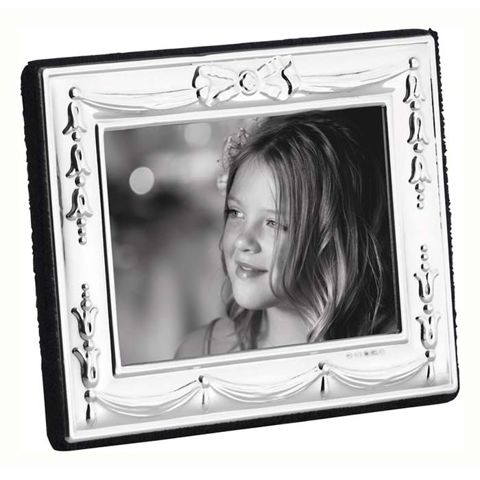 Edwardian Bow And Ribbon 5X4 cm Traditional Photo Frame
