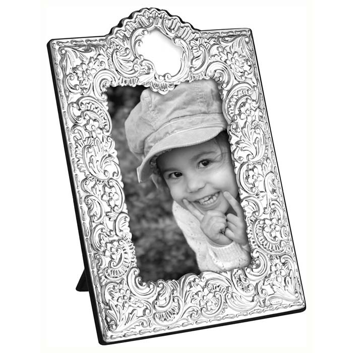 Victorian Floral Scroll 18X13 cm - 7X5 Inch Traditional Portrait Photo Frame