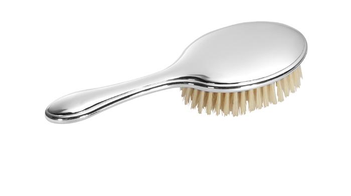 Silver Plain Brush
