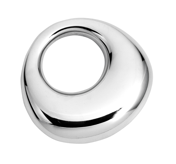 Sterling Silver Plain Baby's Rattle