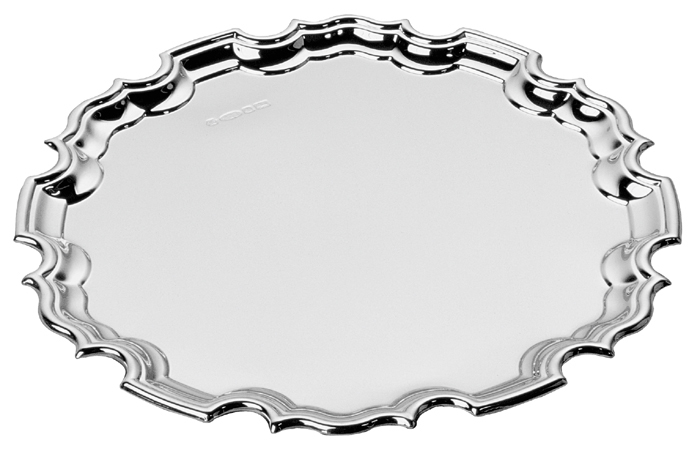 Sterling Silver Chippendale Waiter 20cm 8 Inch