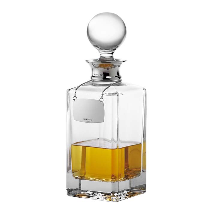 Spirit Decanter Plain Crystal 65cl