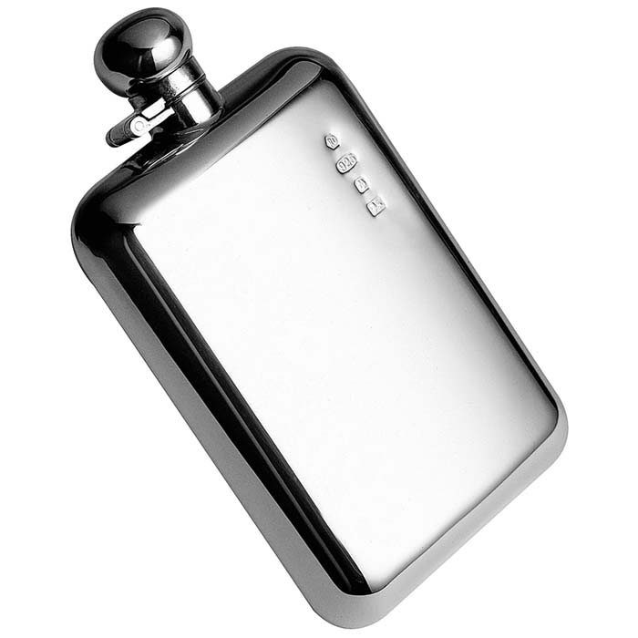 Silver Hip Flask 17cl