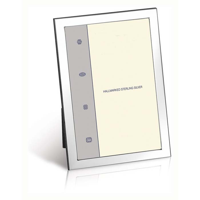 Flat Narrow Plain Rectangle 13X9 cm 13X9 cm Classic Photo Frame