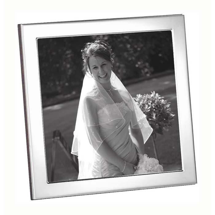 Silver 10X10 Square Photo Frame