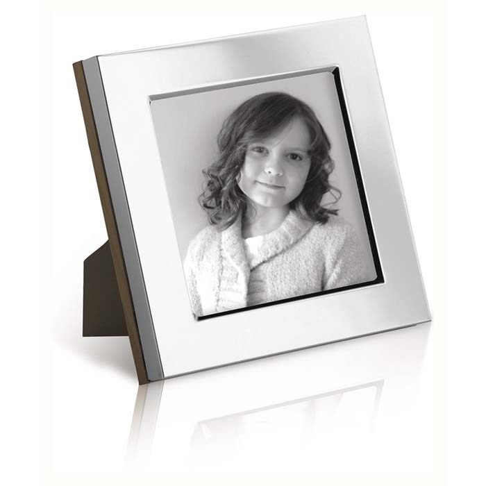 Flat 8X8 cm Contemporary Photo Frame
