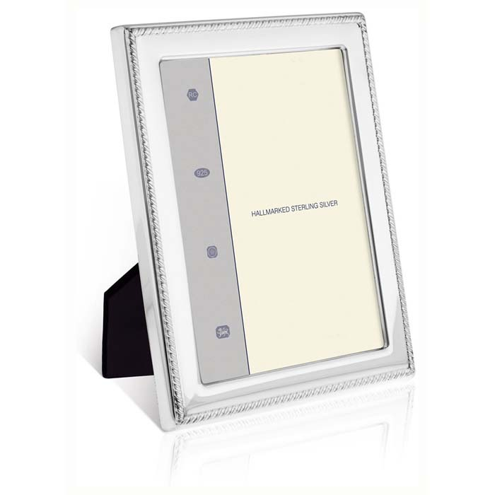 Gadroon Smooth 13X9 cm Classic Photo Frame