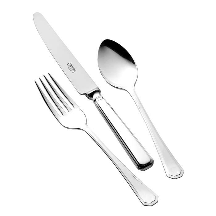Children's Silver Cutlery Set Grecian Design