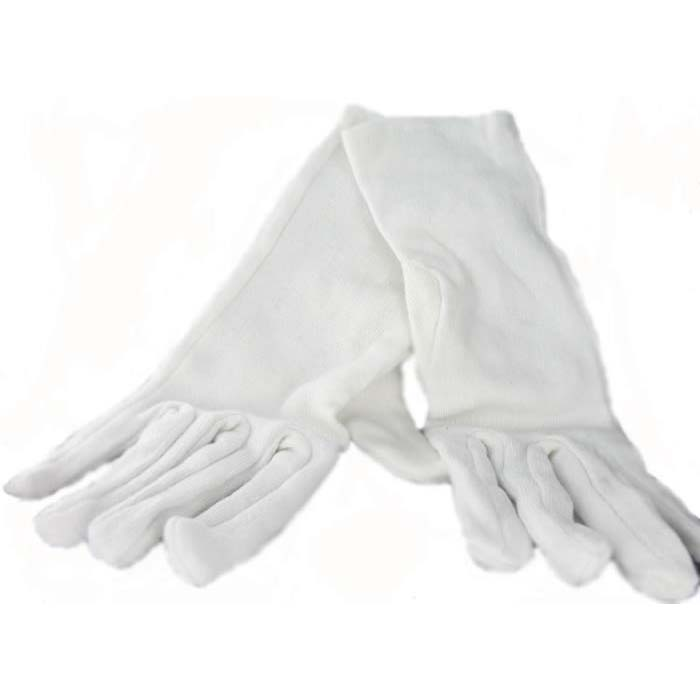 White Gloves For Handling Silver