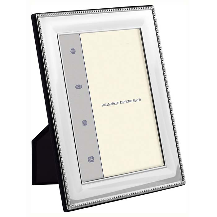 Bead Wide Convex 9X6 cm Classic Style Photo Frame