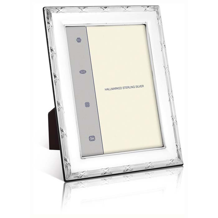 Louis Xiv Reed And Ribbon Simple 25X20 cm - 10X8 Inch Classic Photo Frame