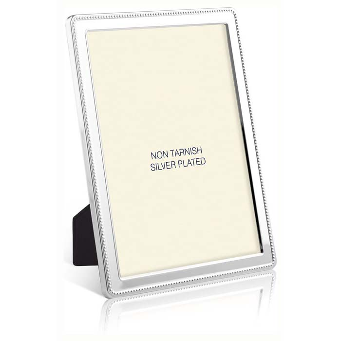 Curved Bead Border 25X20 cm - 10X8 Inch Classic Photo Frame
