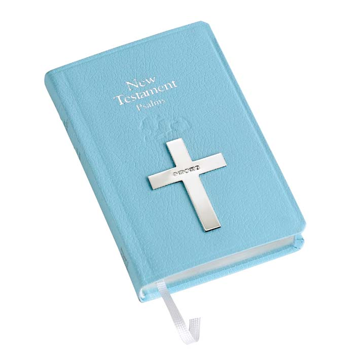 New Testament In Blue
